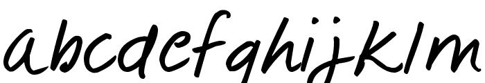 Pea Little-Ducky Font LOWERCASE