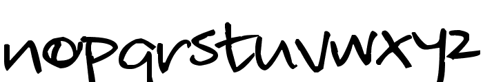 Pea Loftsgard Font LOWERCASE