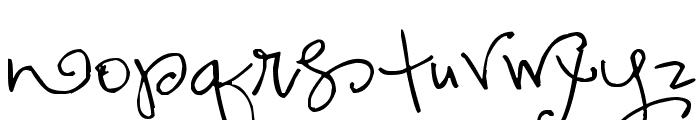 Pea Lovey Dovey Font LOWERCASE