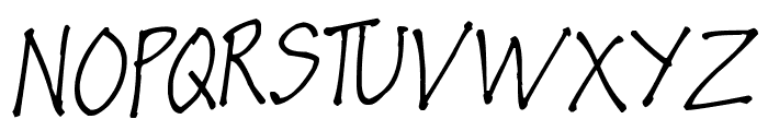 Pea Luzel Font UPPERCASE