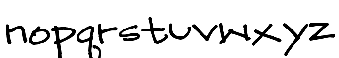 Pea Mary-Katie Font LOWERCASE