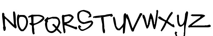 Pea MissStaker Font UPPERCASE