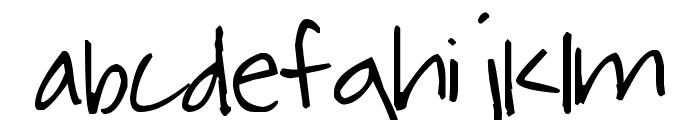 Pea Murphy Font LOWERCASE