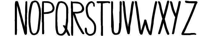 Pea Mystie Caps Font LOWERCASE