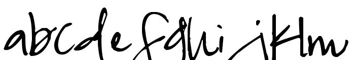 Pea NaeNae Font LOWERCASE