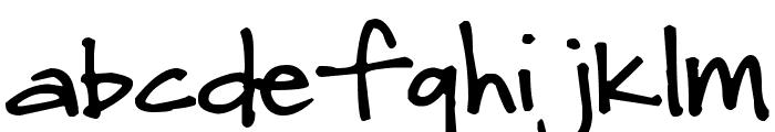 Pea Natalie Font LOWERCASE
