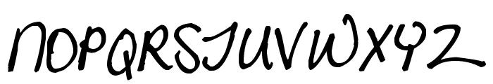 Pea Randa Font UPPERCASE