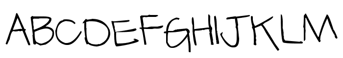 Pea Ratchette Font UPPERCASE