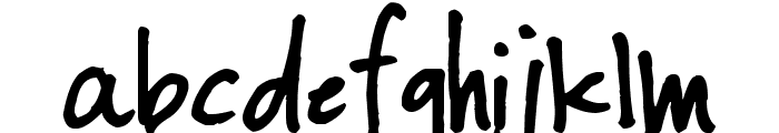 Pea RobotStrong Font LOWERCASE
