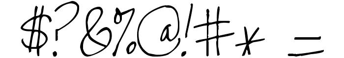 Pea Stefanieva Font OTHER CHARS