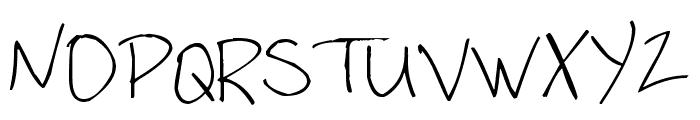 Pea Stefanieva Font UPPERCASE