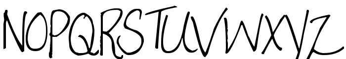 Pea Tammi Font UPPERCASE