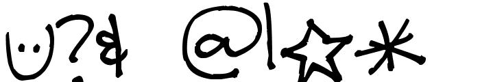 Pea Tara Font OTHER CHARS