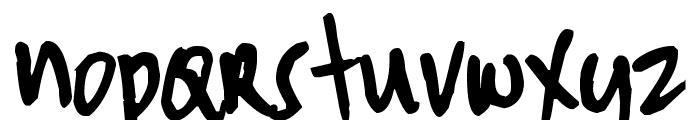 Pea Tinapay Font LOWERCASE