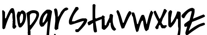 Pea Tiphanie Font LOWERCASE