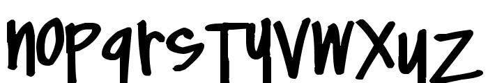 Pea Zobrist Font LOWERCASE