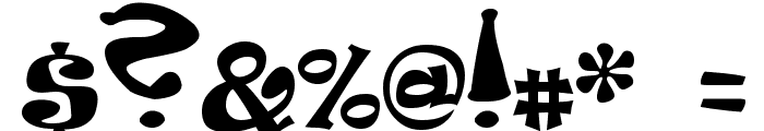 Peabody Font OTHER CHARS