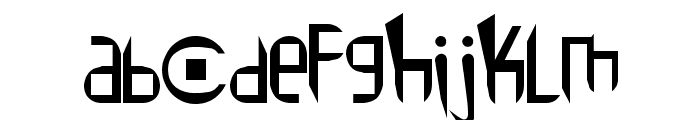 Peace1 Font LOWERCASE