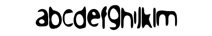 PeaceNow Basic Font LOWERCASE