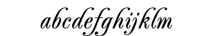PeachExquisiteOpti-Bold Font LOWERCASE