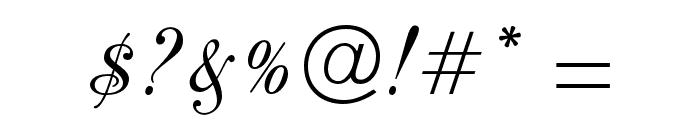 PeachExquisiteOpti Font OTHER CHARS