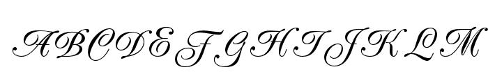 PeachExquisiteOpti Font UPPERCASE