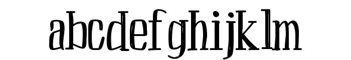 Peach Font LOWERCASE