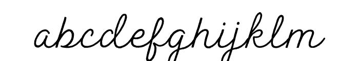 Peak Times Font LOWERCASE