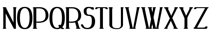 Peake Bold Font UPPERCASE