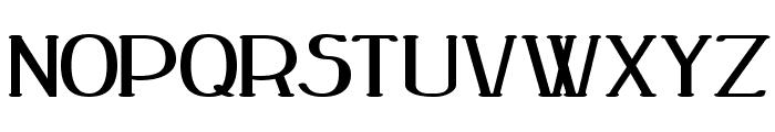 Peake Bold Font LOWERCASE