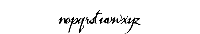 PearTrees Font LOWERCASE