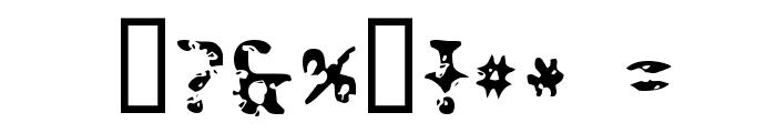 Peatloaf Font OTHER CHARS