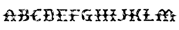 Peatloaf Font UPPERCASE