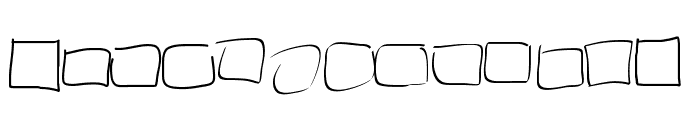 PeaxWebdesigncircles Font LOWERCASE