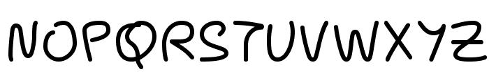 Pecita Font UPPERCASE
