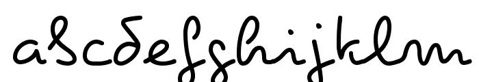 Pecita Font LOWERCASE