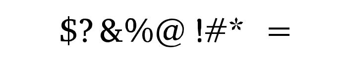 Peddana Regular Font OTHER CHARS