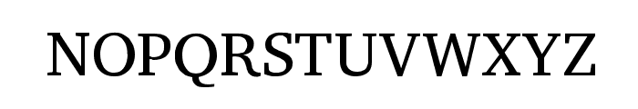 Peddana Regular Font UPPERCASE