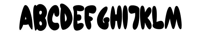 Pedro Marker Font UPPERCASE