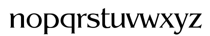 Pegasus Regular Font LOWERCASE