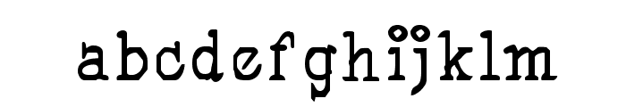 Pegyptienne Font LOWERCASE