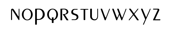 Peignot Font LOWERCASE