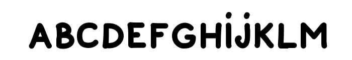 Pek Komik Sans Font LOWERCASE