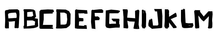Peleja Regular Font UPPERCASE