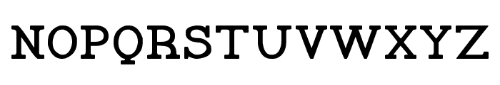 Pelida Bold Font UPPERCASE
