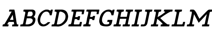 Pelida Italic Bold Font UPPERCASE
