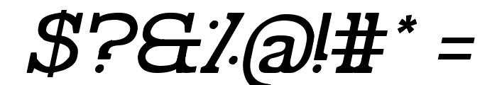 Pelida Italic Font OTHER CHARS