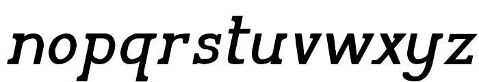 Pelida Italic Font LOWERCASE