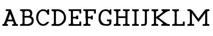 Pelida Regular Font UPPERCASE