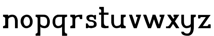 Pelida Regular Font LOWERCASE